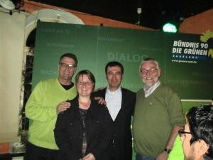 Markus, Yvette, Cem, Adam