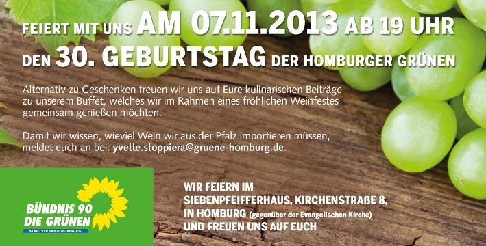 30 Jahre Grün in Homburg